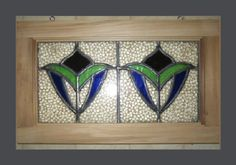 English Stained Glass Transom Window 1930s by MillingtonMill, $130.00 feng shui