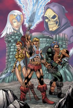 Masters of the Universe Colors by seanforney on DeviantArt