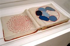 """I love these Louise Bourgeois fabric panels, (actually """"pages"""") I saw at MOMA today at the not so newish exhibition Mind and Matter: Altern..."""