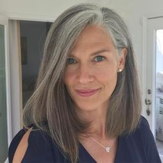 2 years ago I gave myself permission to stop coloring my hair #rebel I love my new look. It reminds me of my new found freedom to be true to myself. Embrace who you are and where you are in life. I am #grateful to all my beautiful silver haired friends who encouraged me along the way