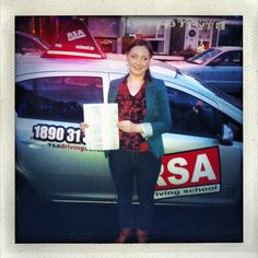 RSA Driving School does it again! Congratulations Lydia Simmons of Ballycullen! Just one grade 2 fault...Incredible! http://www.rsadrivingschool.ie #rsadrivingschool #drivinglessonsdublin