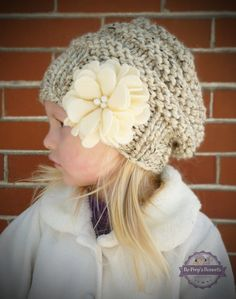 Items similar to Hand Knit Toddler Kids Slouchy Hat and Cowl Scarf Set in Neutral Wheat, Toddler Girls Boys Knitted Slouch Beanie and Infinity Scarf Set on Etsy Kids Beanies, Kids Hats, Slouch Beanie, Slouchy Hat, Hats For Cancer Patients, Cute Hats, Girl With Hat, Felt Flowers, Handmade Felt