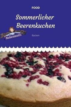 Sommerlicher Beerenkuchen #Rezept #backen