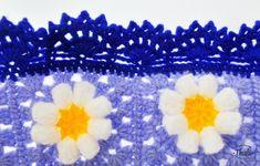Bordure du Plaid Flower Power