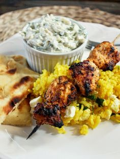 Greek Chicken Kabobs are one of my most popular dishes in this house! My family and I are addicted to Greek food, yes addicted. I can't go a week without cooking something Greek and it's always Greek Chicken or Spanakopita, which is a Greek Spinach Pie. My family also love kabobs, which is why …