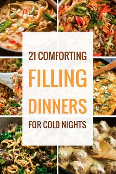 18 Comforting Filling Dinners for Cold Nights