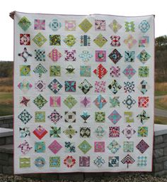 Farmer's Wife Quilt ~ there's a sweet story to go along with this quilt. Also measurements for sashing and such