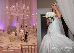 True Love, True Luxury: Alana & Mark   WedLuxe Magazine