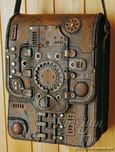 Steampunk bag.