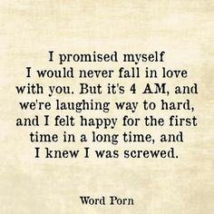 sounds like our first date, that lasted 14 hours... talking until 2:30am had never been so wonderful.