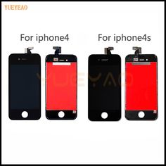 YUEYAO AAA Quality LCD Screen For iPhone 4 4S 5 5S 5C LCD Display Touch Screen Digitizer Assembly Replacement For iPhone 5S LCD   Price: 13.19 USD