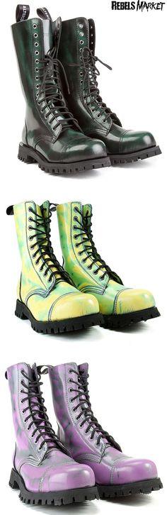 Shop punk boots at RebelsMarket.