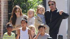 La custodia de los hijos clave en la resolución del divorcio de Brad Pitt y Angelina Jolie