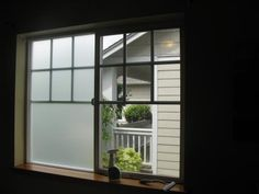 Bathroom Windows:Gila 4 Ft. X 6.5 Ft. Frosted Privacy Window Film