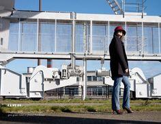 WAW - Chapeaux & Headbands. CL SY 01 Chapeau cloche rouge symétrique.