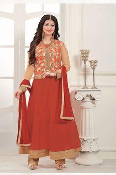 Semi Stitched Stunning Designer Anarkali Suit