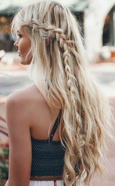 Beach waves & braid