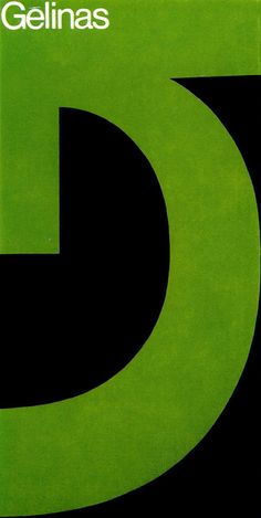 folder panel for Gesser + Gèlinas, Inc. by Fritz Gottschalk + Stuart Ash (1970)