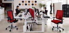black dot swivel ergonomic office chair   Sedus   Sedus