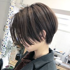 neutral haircut # 1 most popular short order . - hair trends for new year Tomboy Hairstyles, Quick Hairstyles, Medium Hair Cuts, Long Hair Cuts, Pelo Ulzzang, Hair Inspo, Hair Inspiration, Plus Populaire, Shot Hair Styles