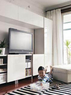 Ikea besta ikea besta 39 lar pratik z mleriyle ya am n z kolayla t rmaya geliyor ikea besta for Tv solutions for living room