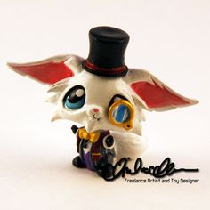 Gentleman Gnar from LoL custom LPS by thatg33kgirl on DeviantArt