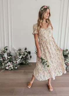 Modest Dresses Casual, Modest Outfits, Simple Dresses, Modest Fashion, Cute Dresses, Beautiful Dresses, Stylish Outfits, Casual Midi Dress, Casual Dresses With Sleeves