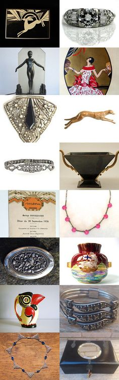Art Deco Stand out a CLASSIC by Vogueteam by Robert Clough on Etsy--Pinned+with+TreasuryPin.com