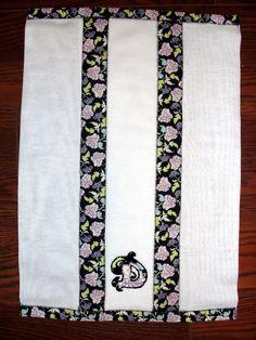 Applique Burp Cloth