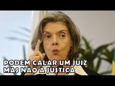 Cármen Lucia acaba com Renan, Maia e Temer ''Podem calar um juiz mas não...