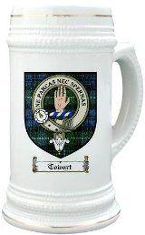 Towart Clan Crest / Clan Badge 22 oz. Stein Mug
