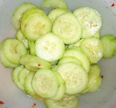 Who doesn't like them? I mean you can make them into PICKLES! I LOVE pickles and I have a great pickle recipe but it uses sugar. maybe by summer I can have som. Protien Diet, Protein Foods, Protein Recipes, High Protein, Healthy Recipes, Ideal Protein Food List, Sweet Onion Dressing Recipe, Ideal Protien Phase 1, Ph Of Foods