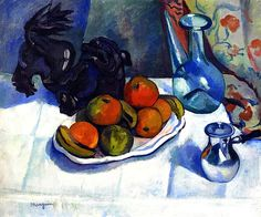 Still LIfe with a Japanese Bronze (also known as Still Life with Dragon) / Henri Manguin - 1910