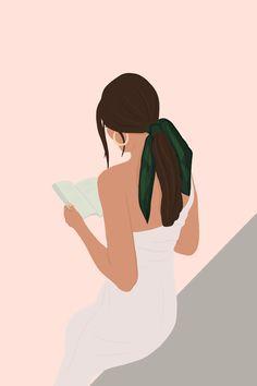 Art And Illustration, Portrait Illustration, Design Illustrations, Mode Poster, Digital Art Girl, Art Drawings Sketches, Pretty Drawings, Minimalist Art, Face Art