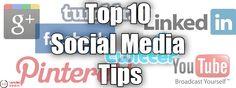Top 10 Social Media Tips on www.memarketingservices.com.