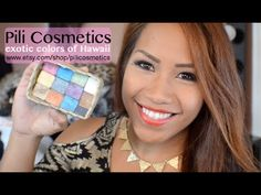 Pili Cosmetics: Exotic Eyeshadows made in Hawaii + GIVEAWAY