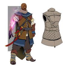 """Kinda """"Battle Mage"""" armor. For personal project."""
