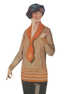 Ladies Colorful 1920s Sweaters and Cardigans History | 1920s
