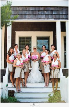 Lulakate Bridesmaid Dresses are on point Wedding Attire, Wedding Bridesmaids, Bridesmaid Dresses, Wedding Gowns, Bridesmaid Color, Casual Bridesmaid, Bridesmaid Flowers, Bridesmaid Gifts, Pale Pink Weddings