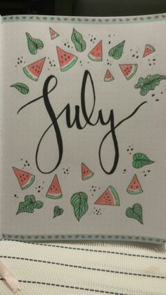 18 Creative Bullet Journal Pages for July - - The Funny Beaver - Bullet Journal Month, Life Journal, Bullet Journal Layout, Bullet Journal Inspiration, Journal Pages, Journal Ideas, Hello July, Bullet Journel, Sketch Notes