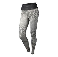 Womens Nike Pro Hyperwarm Print Fitted Tights  I just bought these and have never been so excited to run in cold weather!