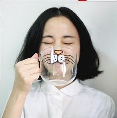 Change Your Face with These Funny Mugs From ZZKKO #coffee #coffeecup trendhunter.com