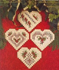 Christmas In My Heart Hardanger Patterns