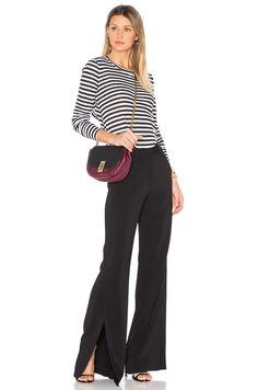 0bed6433d7bc A.L.C. Miles Pants in Black   REVOLVE Pant Jumpsuit, Trousers, Palazzo Pants,  Mix