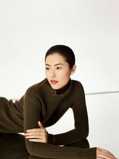 Лю Вэн для Erdos \ Fashion Photo Erdos пригласил Лю Вэн (Liu Wen) и Жао Лея (Zhao Lei) для рекламы осенне-зимней коллекции 2015.