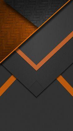 Black and orange texture