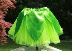 Tinkerbell inspired tutu costume by KiddieWinkDesigns on Etsy, $35.00