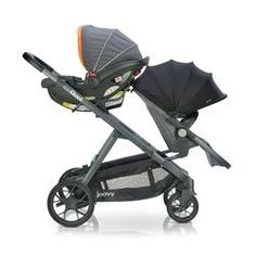 Joovy - poussette qool - gris melange Quad Stroller, Double Baby Strollers, 110 Lbs, Baby Up, Travel System, Grow Together, 3 Kids, Number Two, New Baby Products