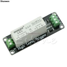 1 Channel SSR Solid State Relay Module High-low Trigger 5A For Arduino Uno R3 #Affiliate
