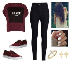"""""""Sin título #617"""" by zaynjuli ❤ liked on Polyvore featuring Pull&Bear, Rodarte, Vans, Chinese Laundry, Bony Levy and Mudd"""